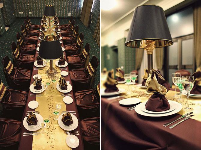 столы гостей на свадьбе Дмитров