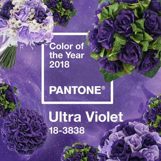ультрафиолет пантон 2018 свадьбы