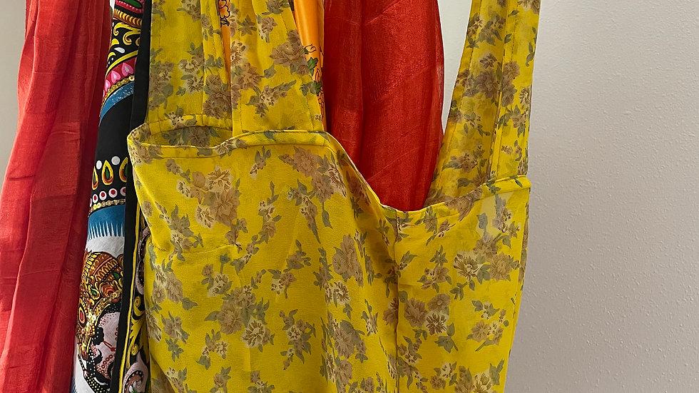 UpCycled Saris Bag