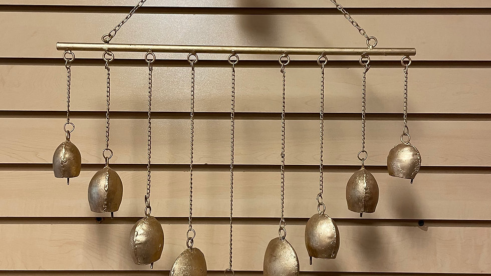 Golden Bell Wind Chimes