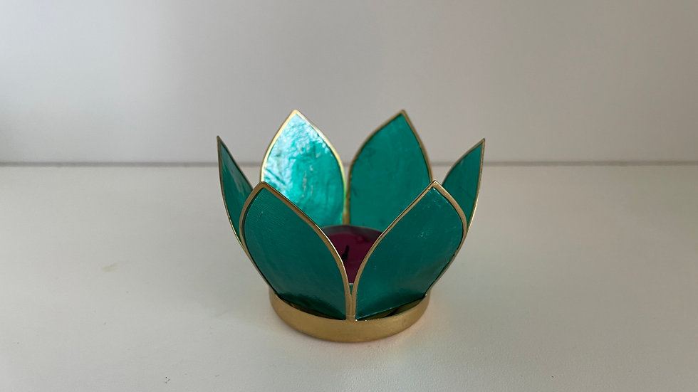 Peaceful Lotus Candleholder