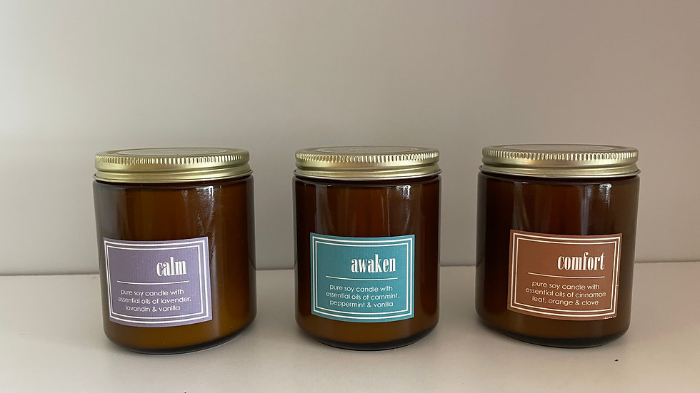 Small Soy Eco Candles