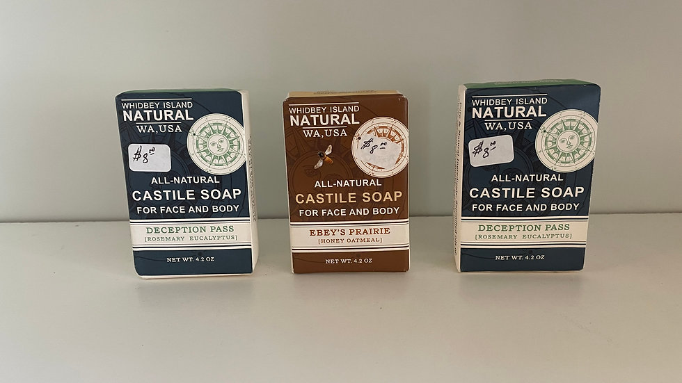 Whidbey Island Castile Soap