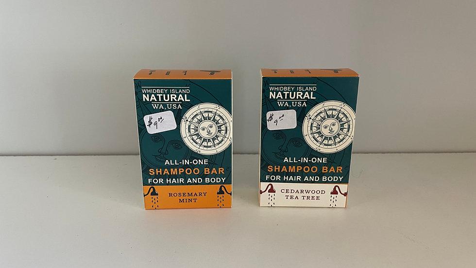 Whidbey Island Shampoo Bar
