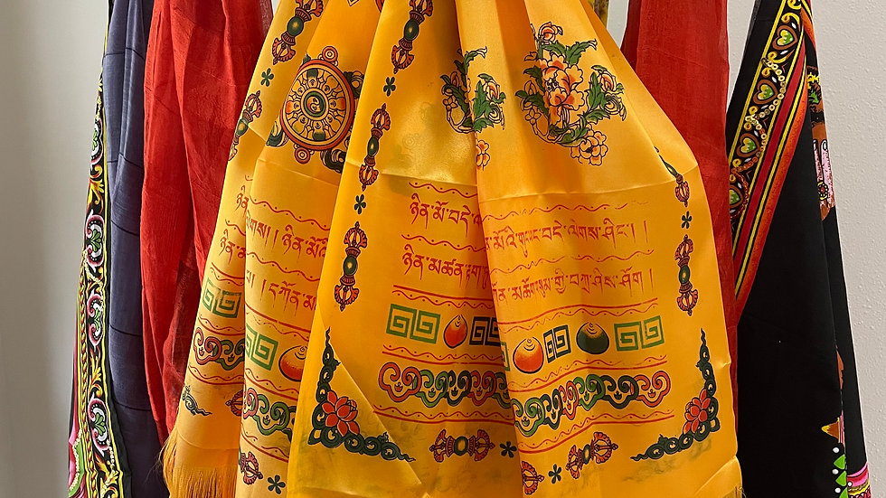 Silk Meditation Scarves