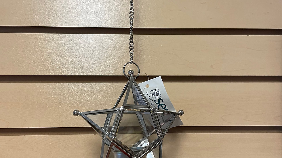 Hanging Tea Candle Holder