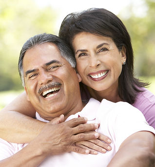 A Happy Hispanic Couple