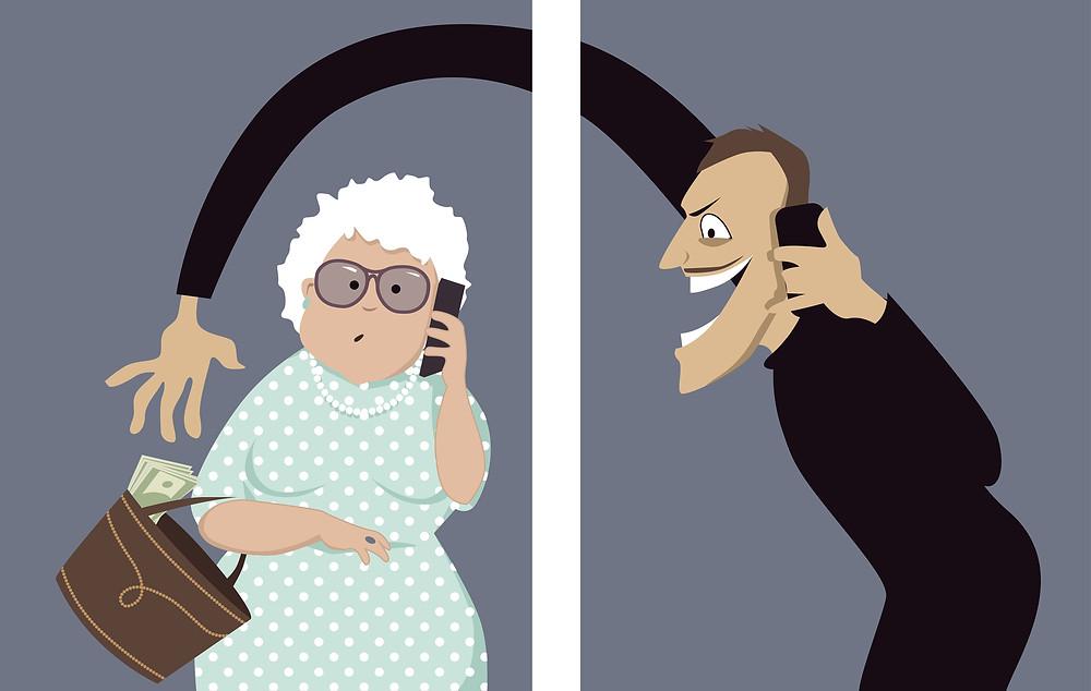 Senior Scams- Phone