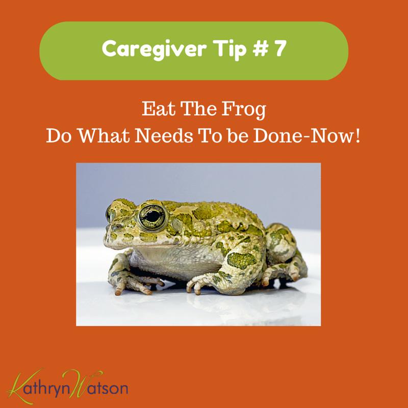 Caregiver tip 7
