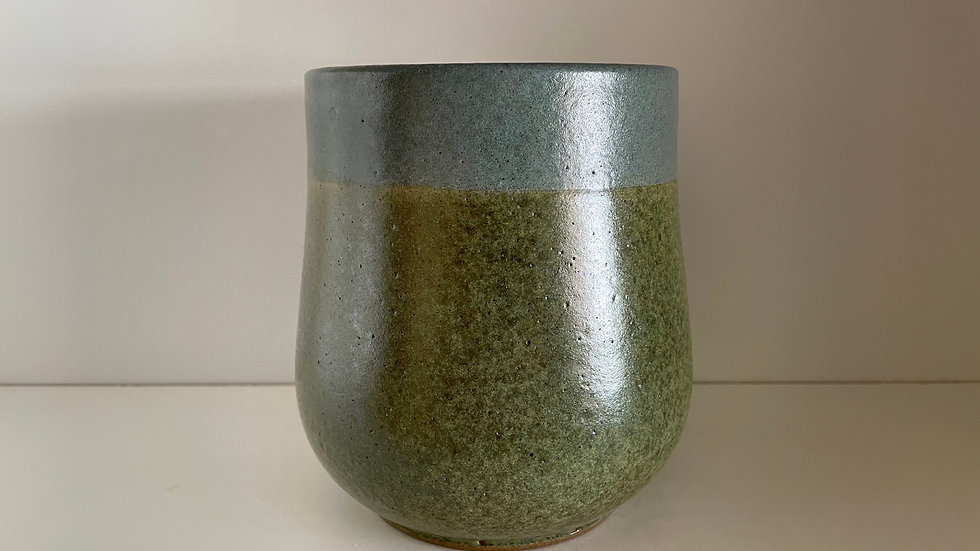 Green and Blue Vase