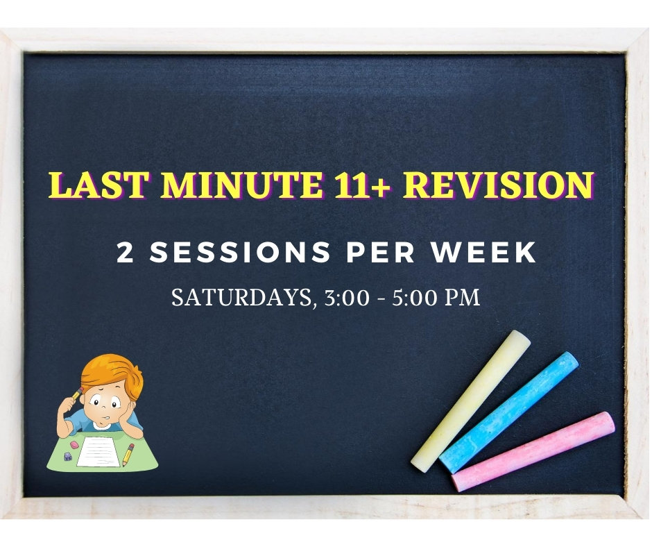 Last Minute 11+ Revision (Year 6)