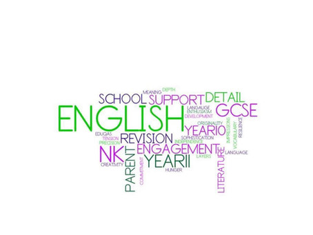 GCSE English Exam Information