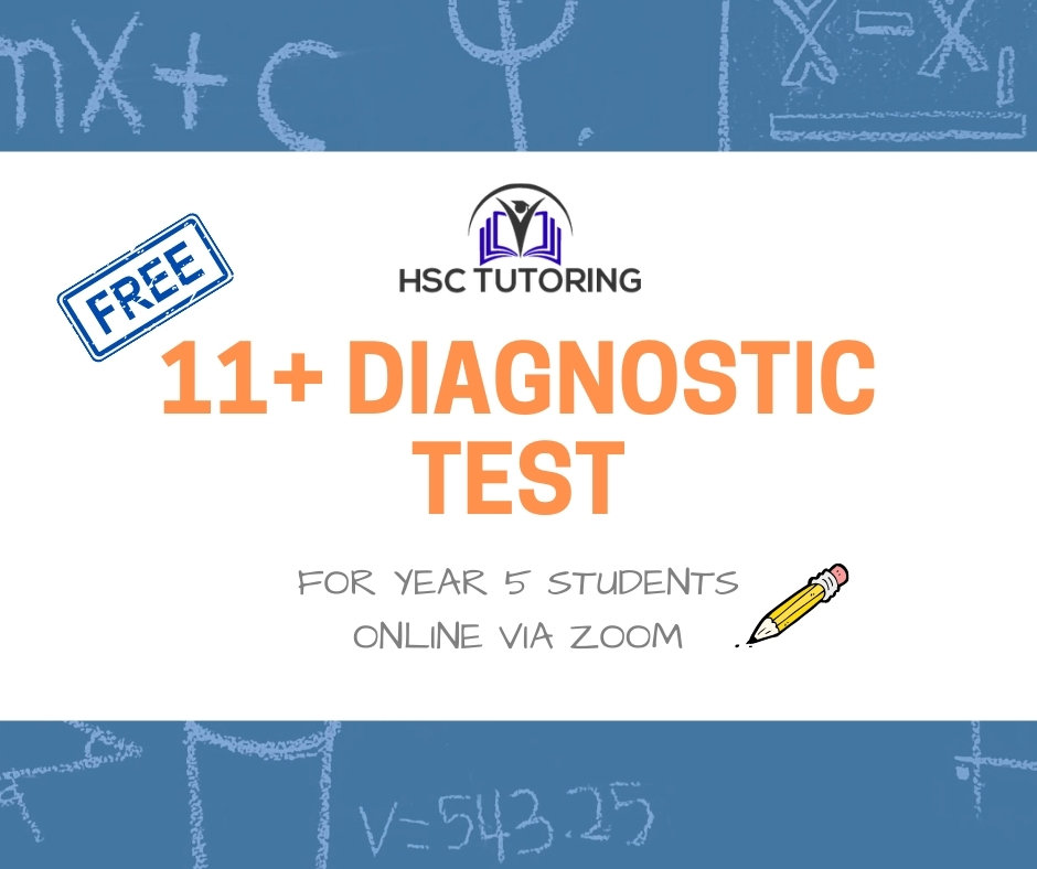 Free 11+ Diagnostic Test (Year 5)
