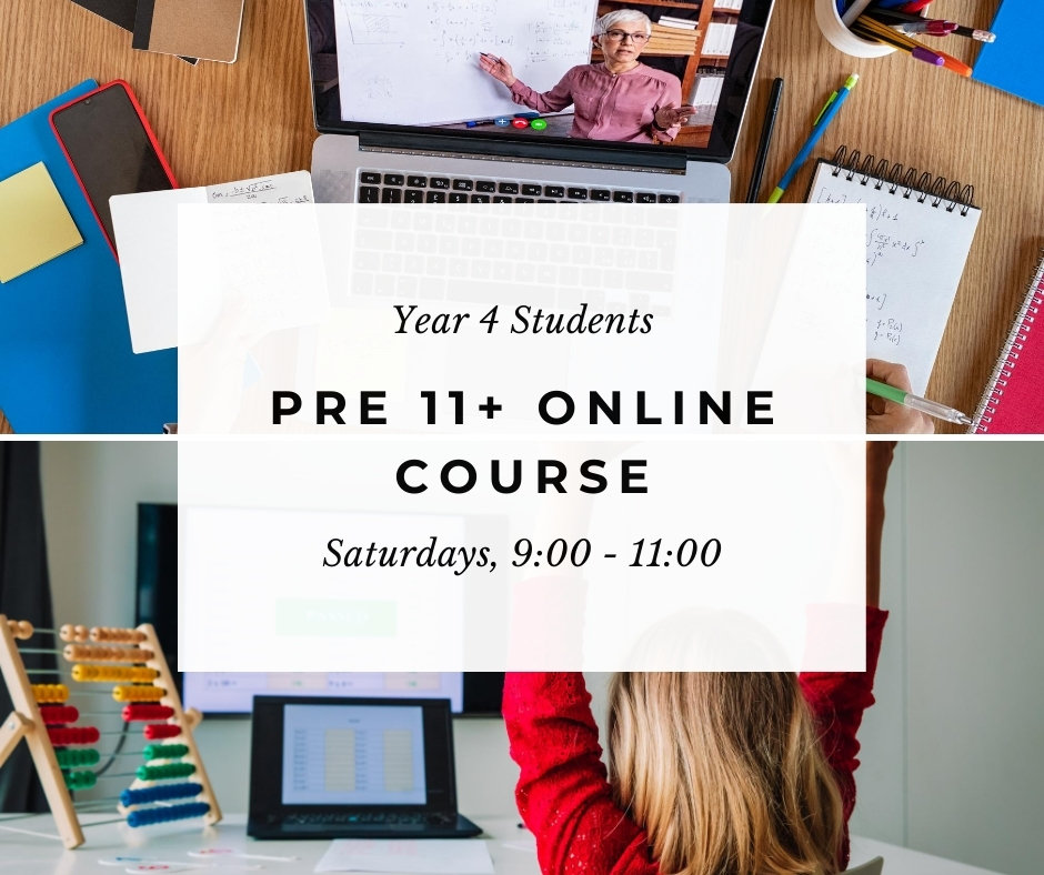 11+ Exams Online Tuition (Year 4)