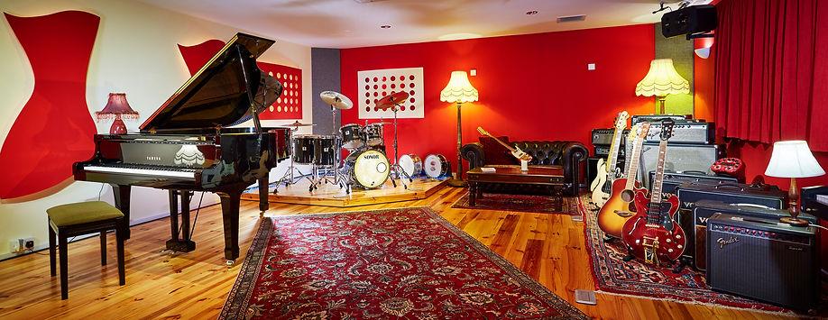 Live Room Panorama, Summerfield Recording Studios, Birmingham Recording Studios