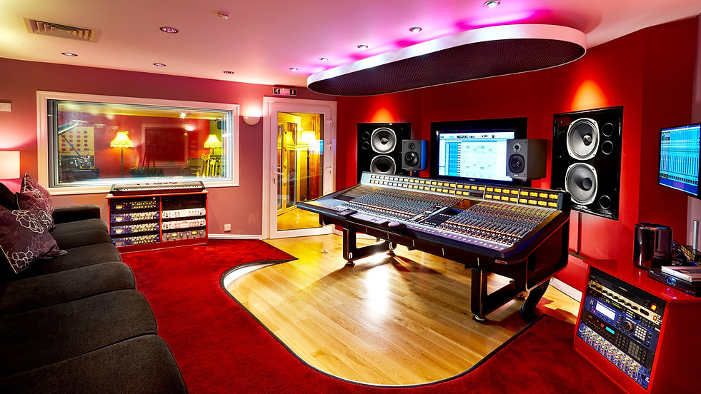 World Class Control Room, Recording Studios Birmingham, Summerfield Recording Studios
