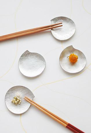 箸置き豆皿-うずまき