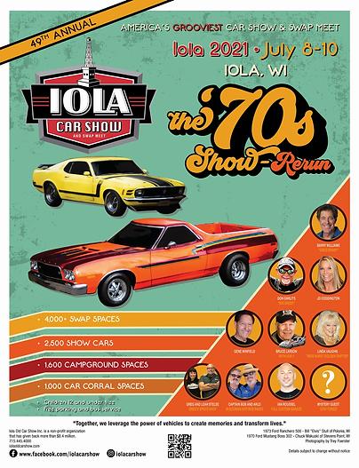 2021 Iola Car Show 17_x22_ Poster.webp
