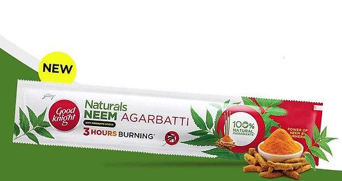 Good Knight Naturals Neem Agarbatti AntiMosquito Sticks, Low Smoke 1pc
