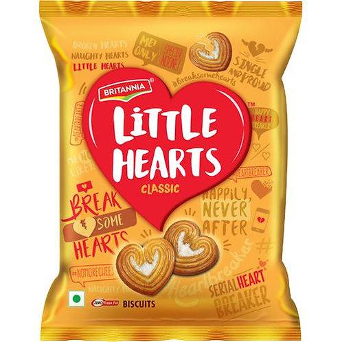 Britannia Little Hearts Biscuits, 34.5 g
