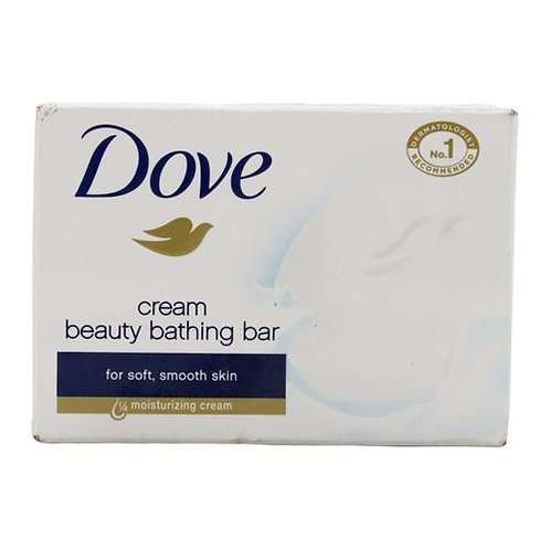 Dove Cream Beauty Bathing Bar Soap, 50 g Carton