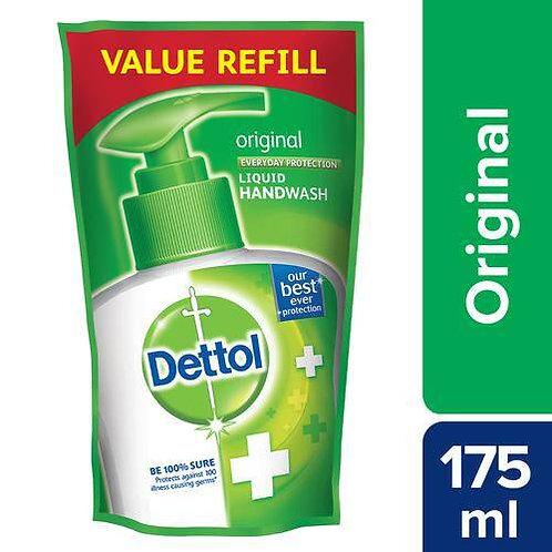 Dettol Hand Wash Liquid Refill - Original, 175 ml