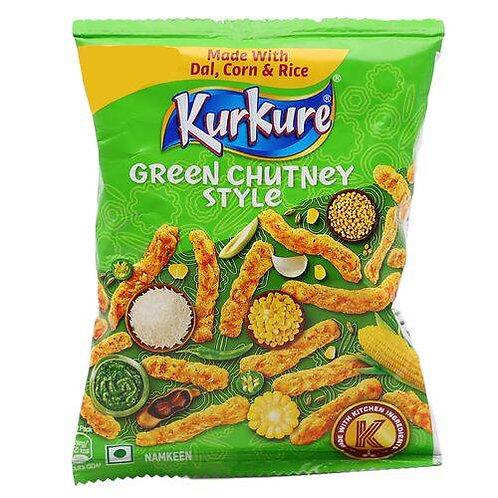 Kurkure Namkeen - Green Chutney Rajasthani Style, 21.5 g