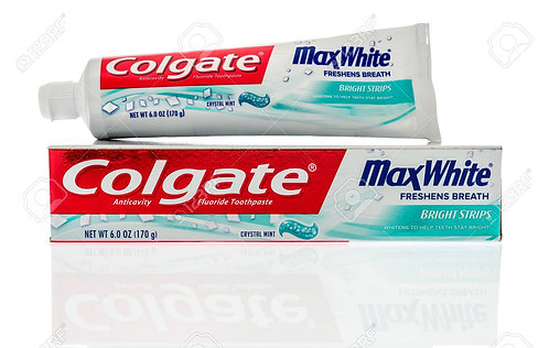 Colgate MaxFresh Toothpaste - Anti-Cavity, Peppermint Ice