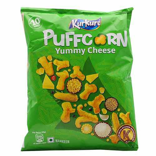 Kurkure Namkeen - Puffcorn, Yummy Cheese