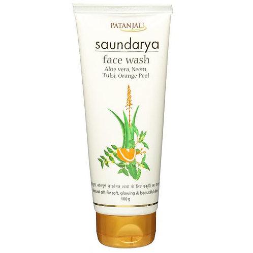PATANJALI Saundarya Face Wash, 100g