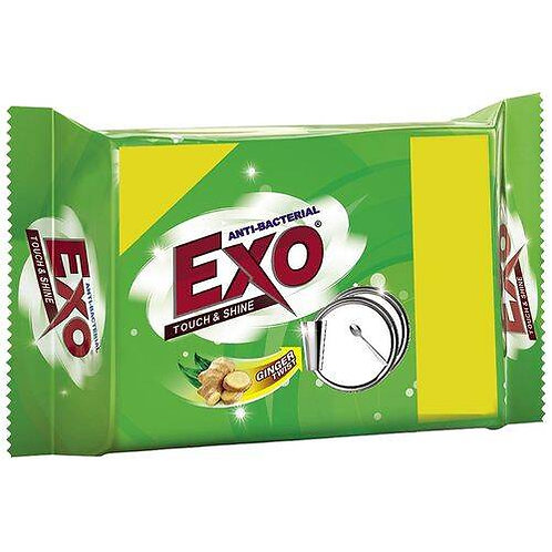 Exo Dish Touch and Shine Bar, 125 gm Pouch