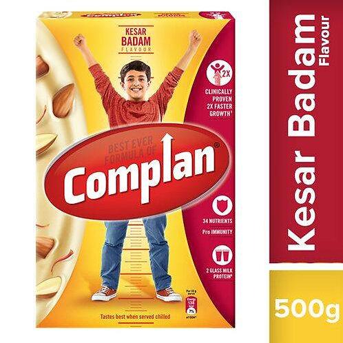 Complan Nutrition & Health Drink - Kesar Badam, 500 g Carton