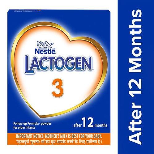 Nestle Lactogen 3 Follow-Up Infant Formula Powder - After 12 months Stage 3, 400