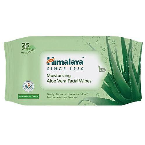 Himalaya Moisturizing Aloe Vera Facial Wipes, 25 Pulls