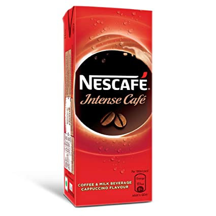 Nescafe Intense Cafe, Ready-To-Drink Cold Coffee 180ml