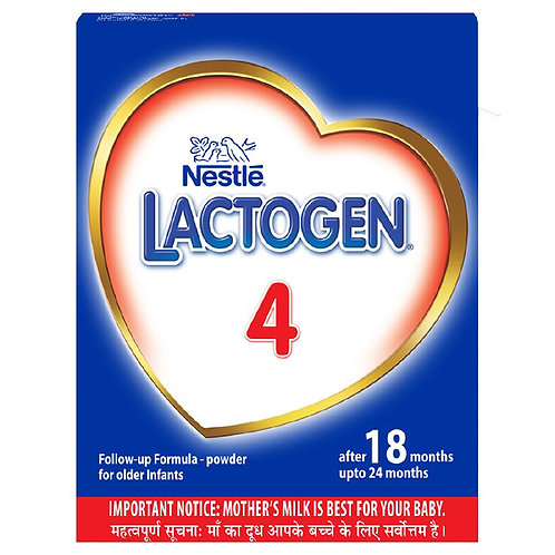 Nestle Lactogen 4 Follow-Up Infant Formula Powder, After 18 Months Upto 24 Month