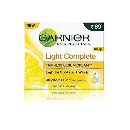 Garnier Light Complete Fairness Serum Cream