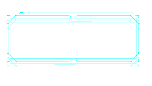 —Pngtree—high-tech border frame text box