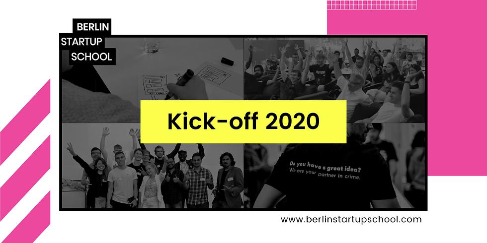 Kick-Off: 1st Batch 2020