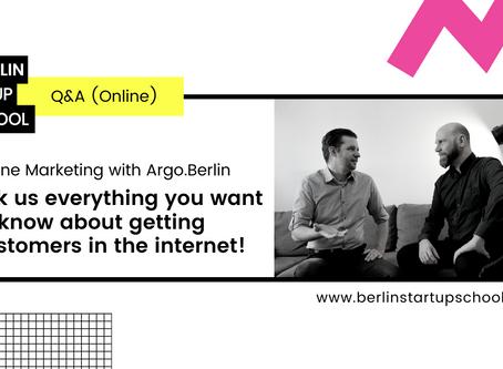 Online Marketing (Summary Live-Q&A)
