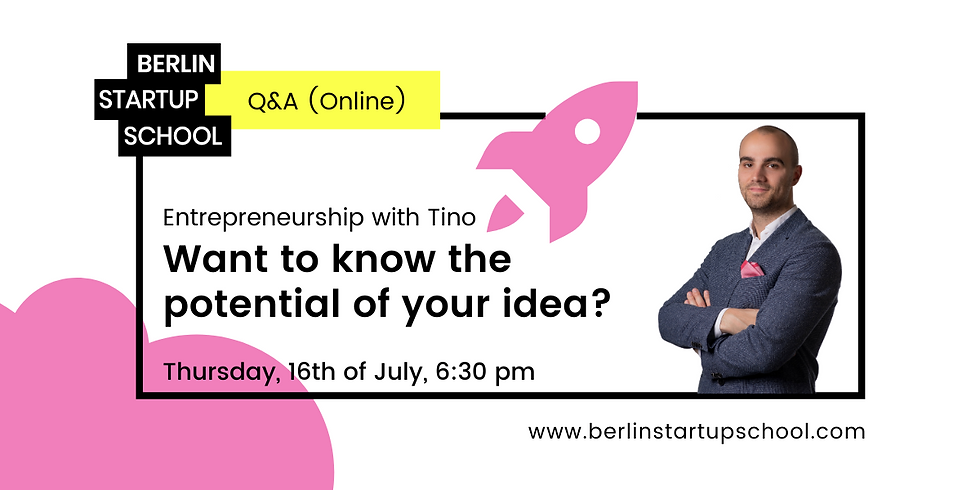 🚀⁉️ Want to know the potential of your idea? Open Q&A with Tino from BSS