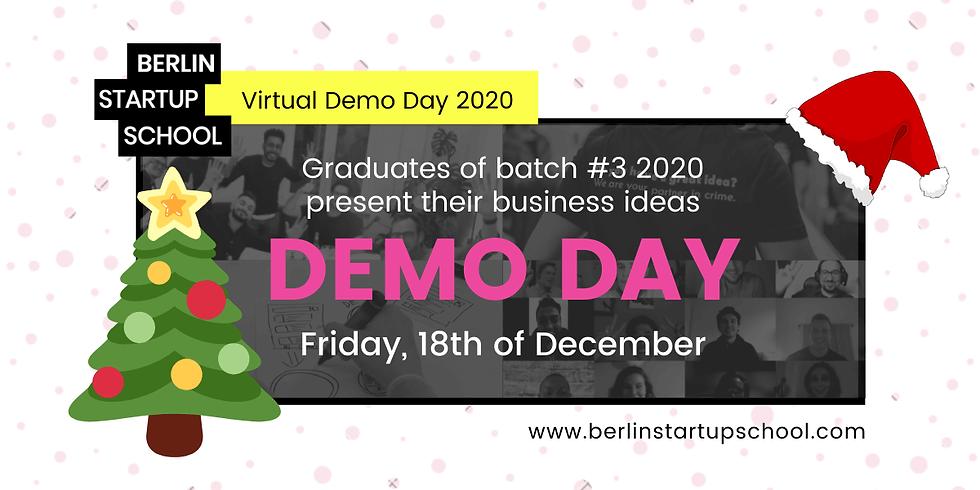 🎤 Demo Day (Batch #3 2020)