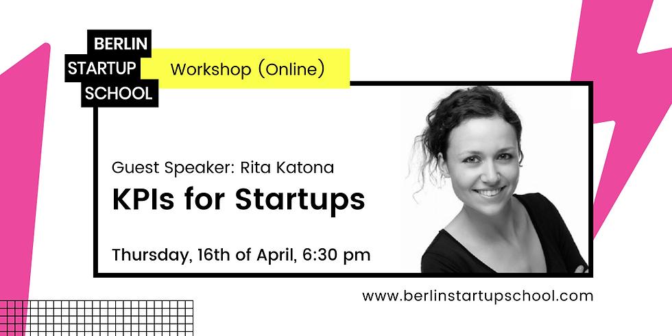 📈🛠 KPIs for Startups with Rita Katona (Webinar)