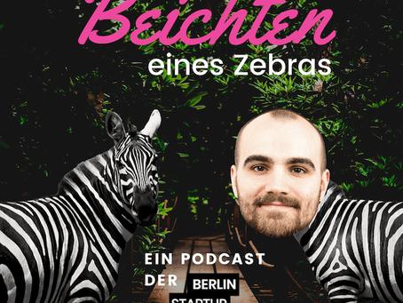 Beichten eines Zebras
