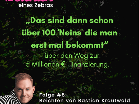 #8 Beichten von Bastian Krautwald (Gründer von deineStudienfinanzierung & Wajve)