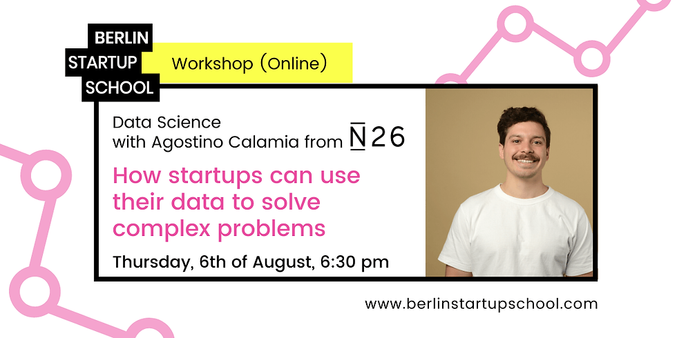 📊 How startups can use their data to solve complex problems w/ Agostino Calamia