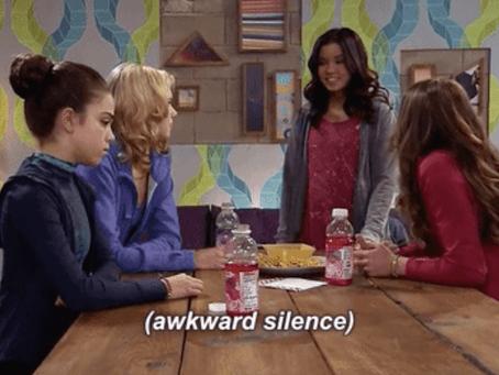 "Avoid awkward silence with ""Uhmmm"""