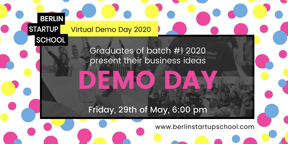 🎤 Demo Day (Batch #1 2020)