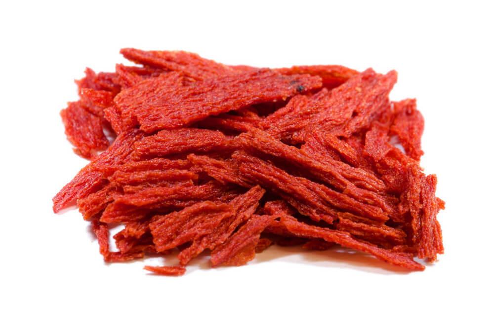 Tomatenflocken, rot
