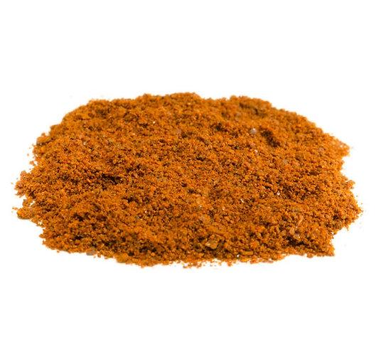 Jalapeno, Chili, rot, Chipotled, gemahlen, getrocknet